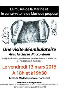 Affiche 13 mars 2015 Musée marine